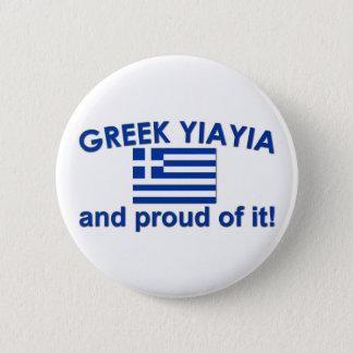 Proud Greek Yia Yia Button