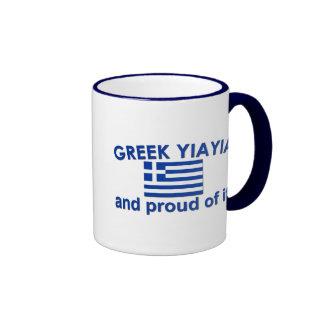 Proud Greek Yia Yia Mug