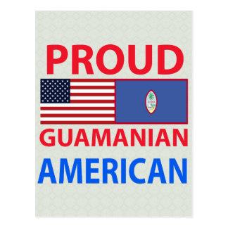 Proud Guamanian American Postcard