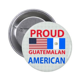 Proud Guatemalan American 2 Inch Round Button