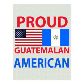 Proud Guatemalan American Postcard