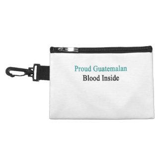 Proud Guatemalan Blood Inside Accessory Bags