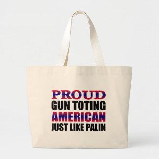 Proud Gun Owners Support Palin Tote Bag