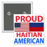 Proud Haitian American Buttons