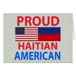 Proud Haitian American Cards