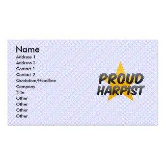 Proud Harpist Business Card