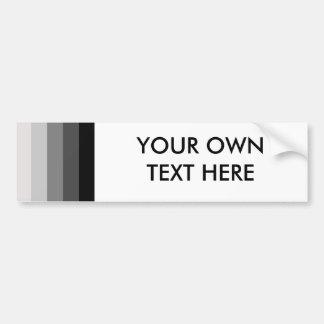 Proud Heterosexual Car Bumper Sticker