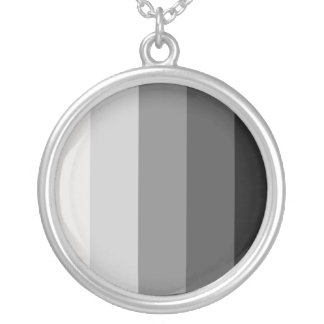 Proud Heterosexual Round Pendant Necklace