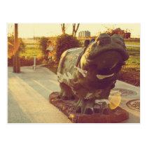 Proud Hippo ! Postcard