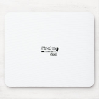 Proud Hockey Dad Mouse Pads