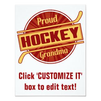 Proud Hockey Grandma Card