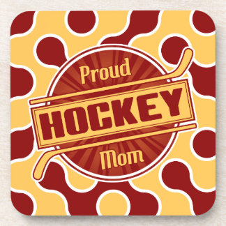 Proud Hockey Mom Drinks Coasters