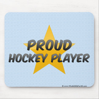 Proud Hockey Player Mouse Pad