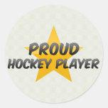 Proud Hockey Player Sticker