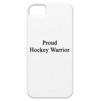 Proud Hockey Warrior iPhone 5 Cover