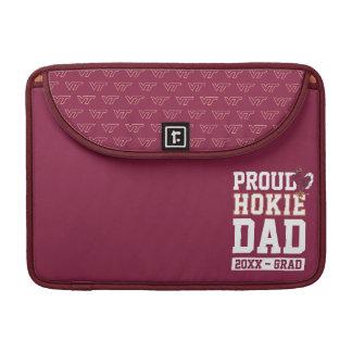 Proud Hokie Dad Class Year Sleeve For MacBook Pro