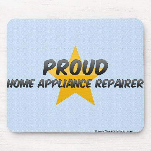 Proud Home Appliance Repairer Mouse Pad