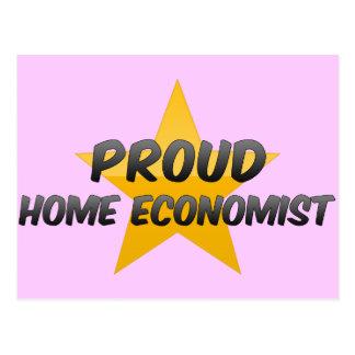 Proud Home Economist Postcard