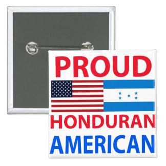 Proud Honduran American Button