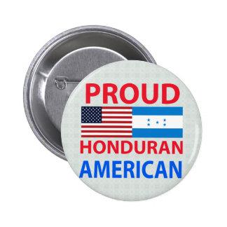 Proud Honduran American Buttons