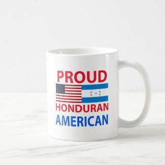 Proud Honduran American Classic White Coffee Mug