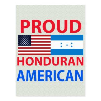 Proud Honduran American Postcard