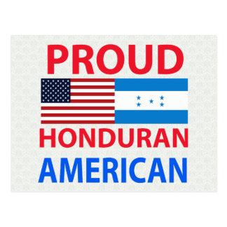 Proud Honduran American Postcards