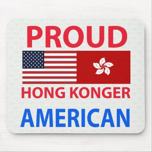 Proud Hong Konger American Mouse Pad