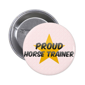 Proud Horse Trainer Buttons