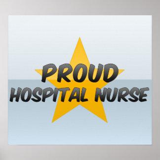 Proud Hospital Nurse Poster