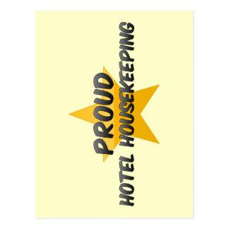 Proud Hotel Housekeeping Post Card