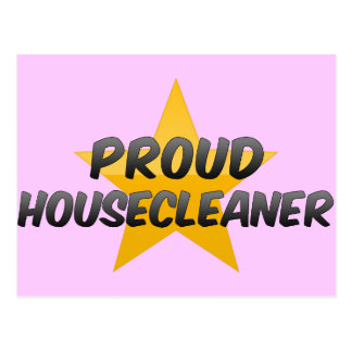 Proud Housecleaner Postcard