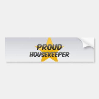 Proud Housekeeper Bumper Stickers