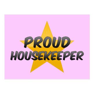 Proud Housekeeper Postcard