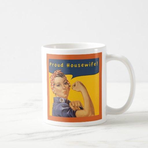 Proud Housewife! Coffee Mugs