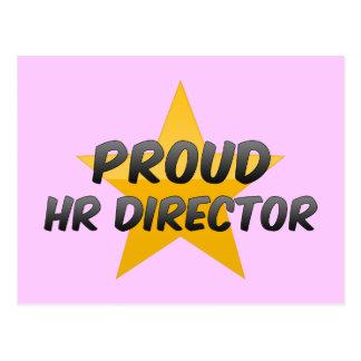 Proud Hr Director Postcard