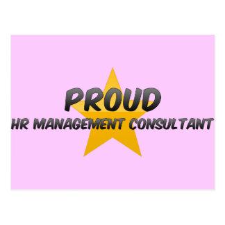 Proud Hr Management Consultant Postcard