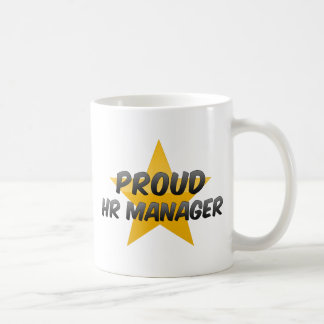 Proud Hr Manager Classic White Coffee Mug