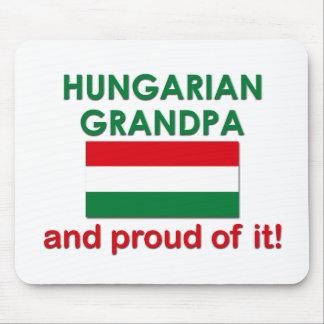 Proud Hungarian Grandpa Mousepad