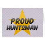 Proud Huntsman Greeting Cards