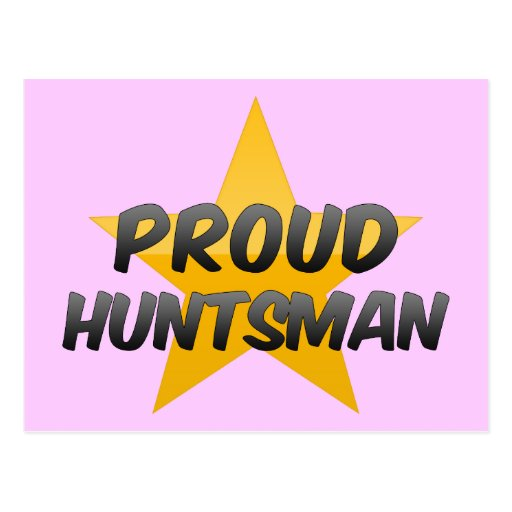 Proud Huntsman Postcard