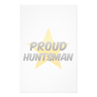 Proud Huntsman Stationery