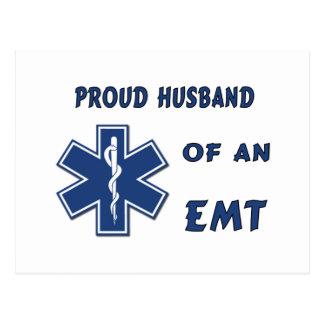 Proud Husband Of An EMT Post Card