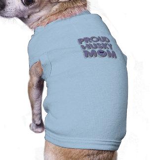 Proud Husky Mom T-Shirt