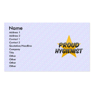 Proud Hygienist Double-Sided Standard Business Cards (Pack Of 100)