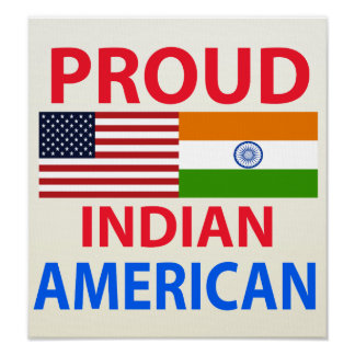 Proud Indian American Print