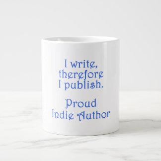 Proud Indie Author Giant Coffee Mug