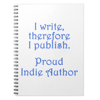 Proud Indie Author Notebooks