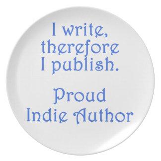 Proud Indie Author Plates
