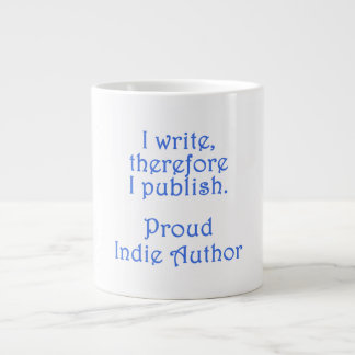 Proud Indie Author Jumbo Mug